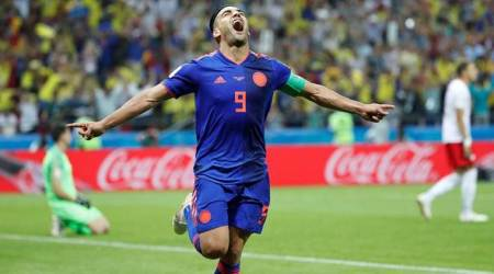 FIFA World Cup 2018: Radamel Falcao scores, Colombia beat Poland 3-0