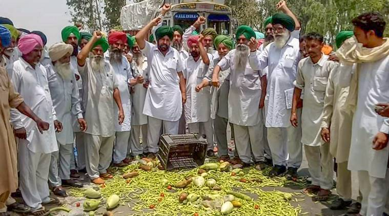 Farmers' agitation enters second day, vegetable prices surge over dwindling supplies