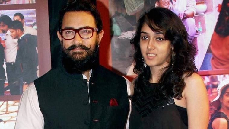 aamir with ira
