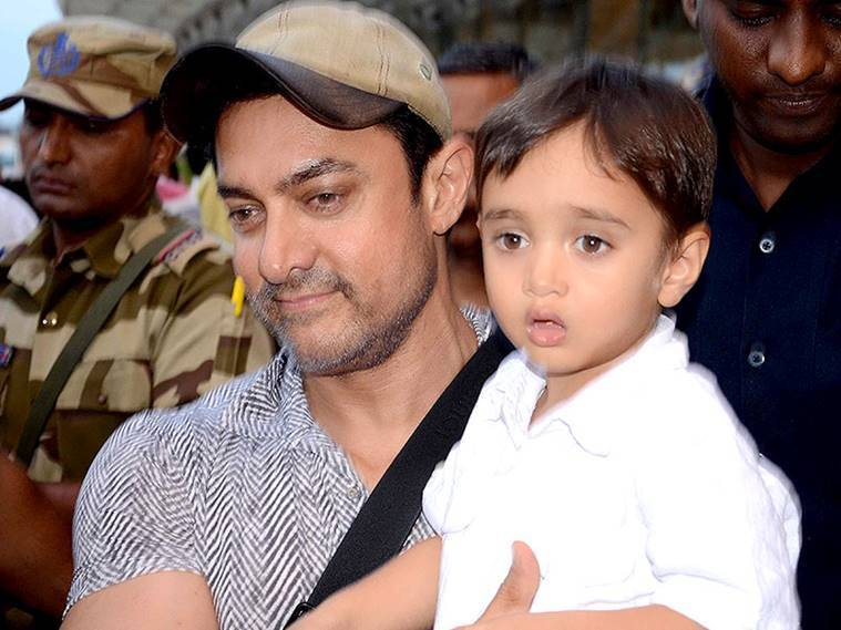 Aamir with azad