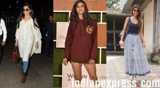 Celeb spotting: Disha Patani, Deepika Padukone, Shilpa Shetty and others