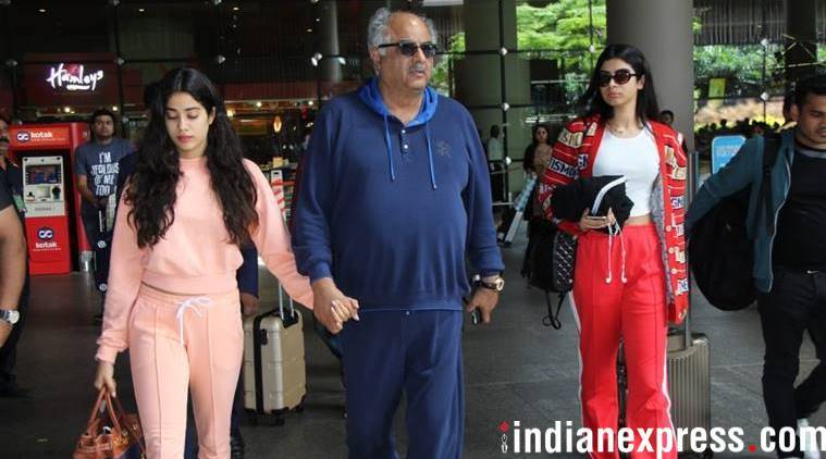 janhvi kapoor back from London