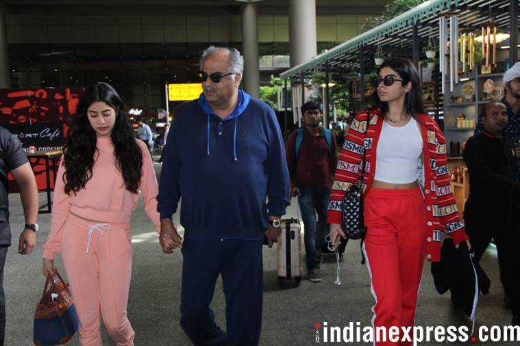 janhvi kapoor was in london