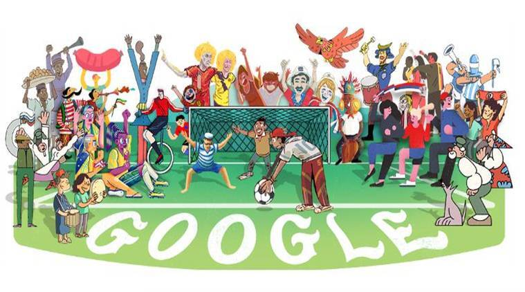 FIFA World Cup 2018, google doodle