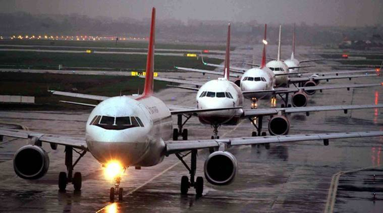 12 pilots grounded, flights veering off runway, aviation, Spicejet, air India, GoAir, DGCA grounds 12 pilots, india news, indian express