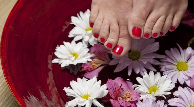 feet care, self care, pedicure, Ayurveda, pedicure regime, Indian Express, Indian Express News