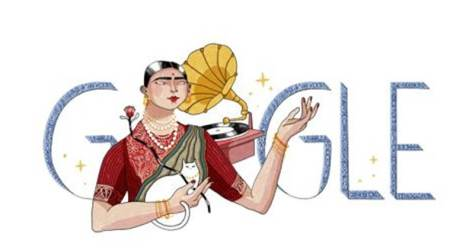Gauhar Jaan, Gramophone Girl, remembered by Google Doodle on 145th birth anniversary