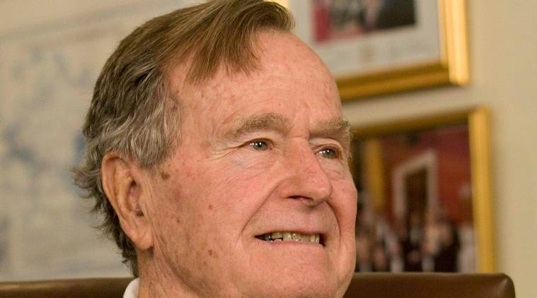 George H W Bush becomes first US president to turn 94