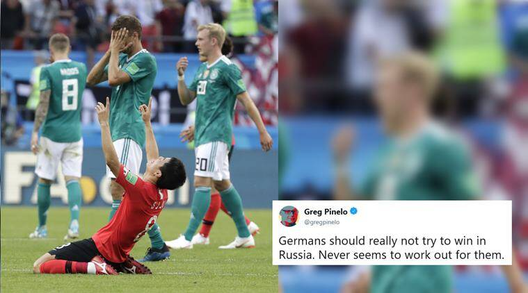 Germany crash out of FIFA World Cup 2018  Twitterati say 662a9319c