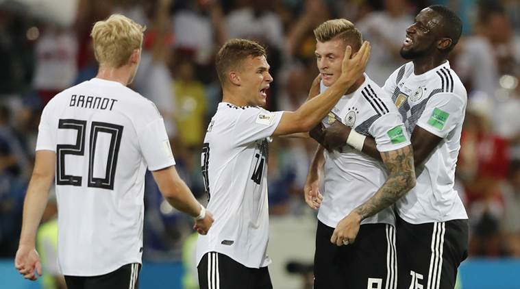 Germans put courageous  face on soccer defeat as their world wobbles