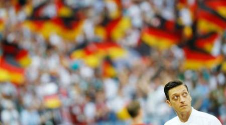 Mesut Ozil's angry Germany departure draws mixed response athome