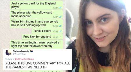 FIFA World Cup 2018: Woman's sassy match updates to boyfriend gets a big thumbs up online; Tweeple ask her to do for every game
