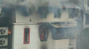 Fire breaks out in building in south Mumbai's CharniRoad
