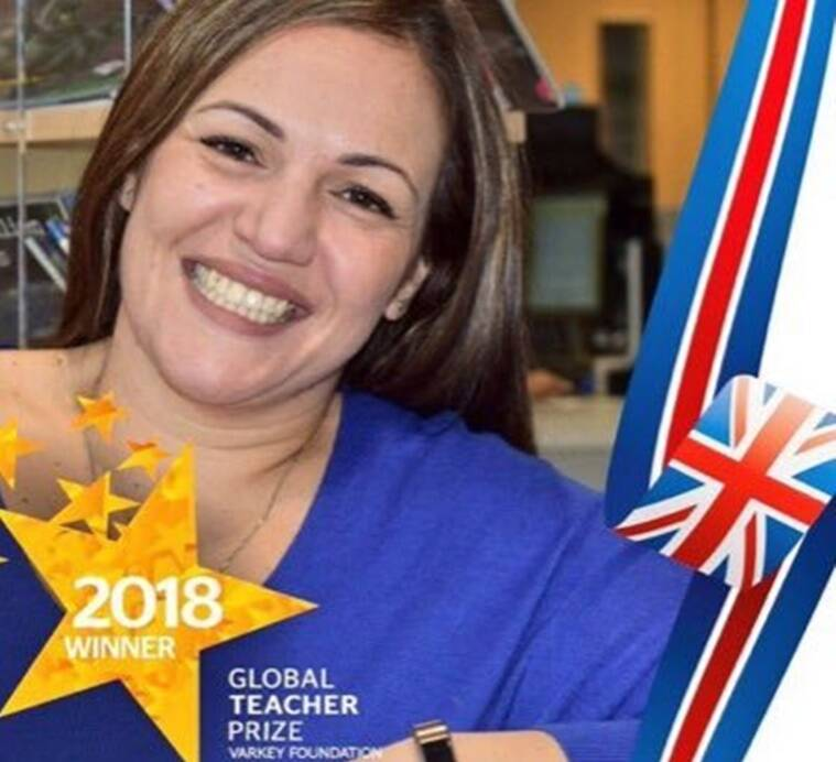 UK Global Teacher Prize Winner, Andria Zafirakou, Global Teacher prize winner,  Global Teacher prize