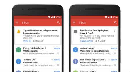 Google, Gmail, Gmail redesign, Gmail high-priority notifications, Gmail revamp, Gmail for iOS, Gmail new features, Gmail update