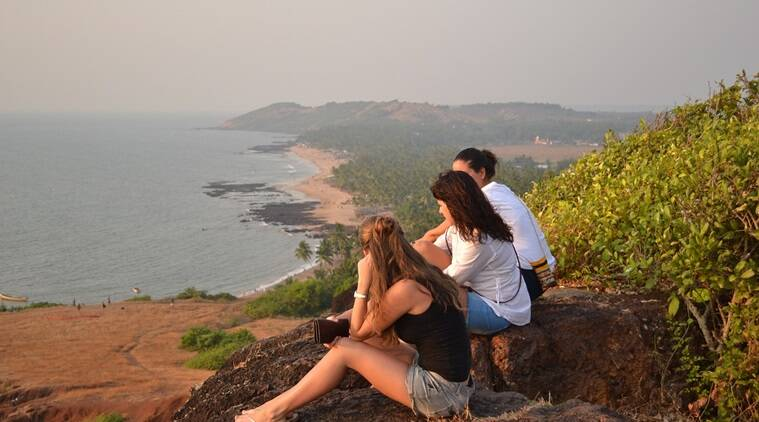 Goa, tourism, holiday spot, sea bathers, safe space, women safety, Indian Express, Indian Express News