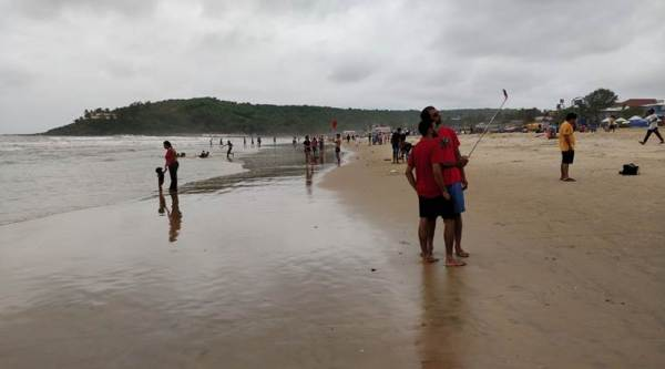 In Goa, red flags go up on beaches after tourist deaths: Selfies can be dangerous