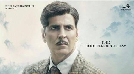 Akshay Kumar has passion in his eyes in the latest poster of Gold