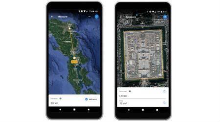 Google Earth introduces Measuring tool for Chrome,Android