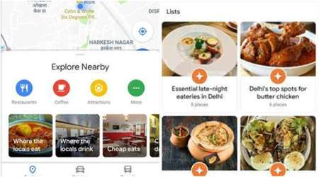 Google Maps, Google Maps update, Google Maps Explore tab, Google Maps redesigned Explore tab, Google Maps features, Google
