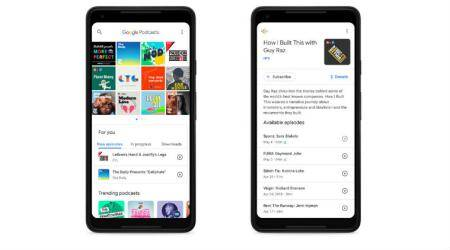 Google launches a standalone podcast app for Android