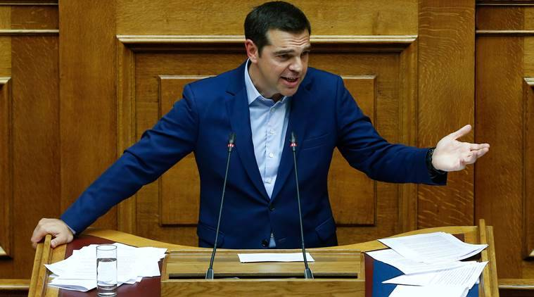 Greek PM Alexis Tsipras survives no-confidence vote in parliament