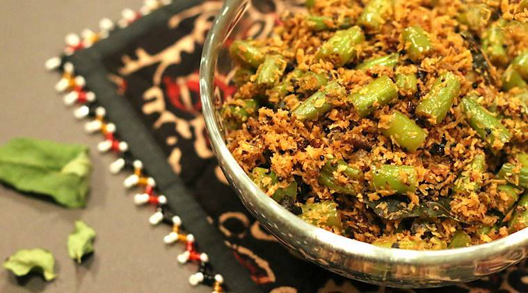 Express Recipes Give Your Vegetable Stir Fry A South Indian Twist With Green Beans Thoran Lifestyle News The Indian Express