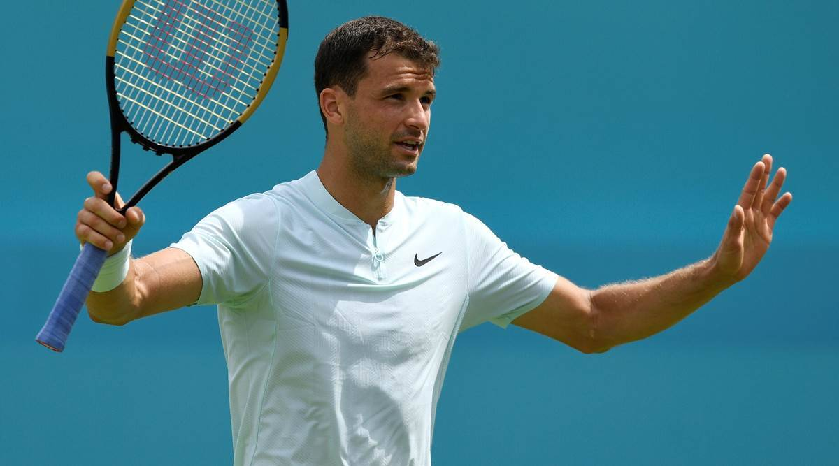Grigor Dimitrov tests positive for Covid-19 | Sports News,The Indian Express