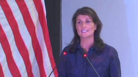 Nikki Haley: India, US share freedom of religion; our nations can only be held together withtolerance