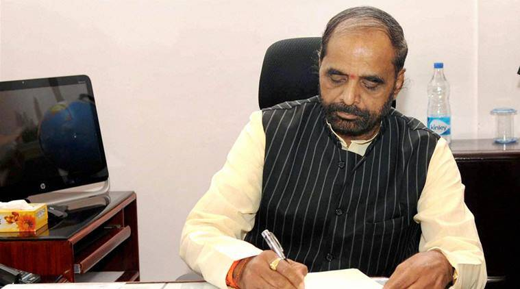 Hansraj Ahir, Indian Constitution, anti-India slogans, parliament winter session, indian express news