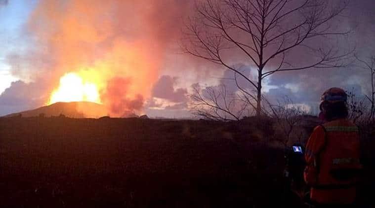 hawaii lava threat, hawaii islands, hawaii big island, hawaii volcano, Kilauea volcano, hawaii disaster, indian express, world news