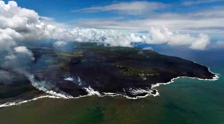 Hawaii Volcano Eruption Lava Mt Kilauea New