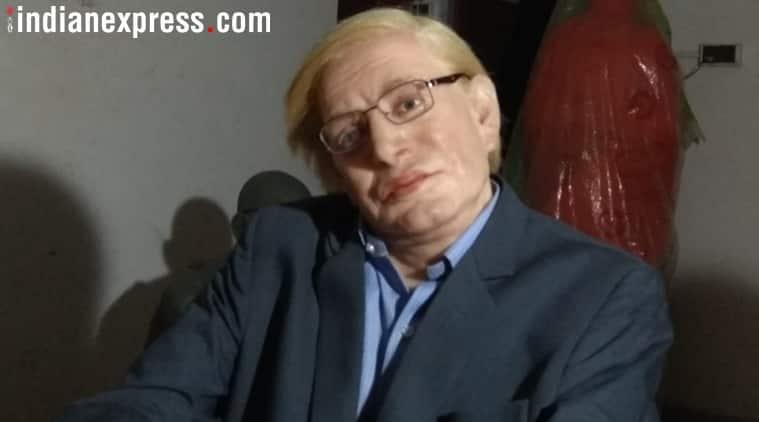 Meet Subimal Das, the artist behind the Stephen Hawking statue