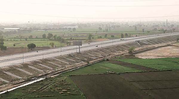 The 135-km expressway opened on May 27. (Express photo/Gajendra Yadav)