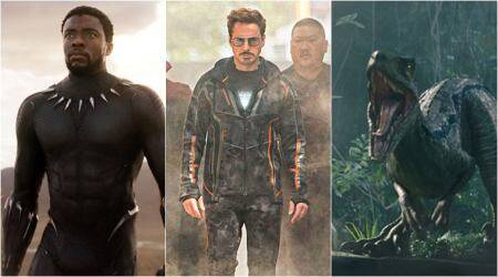 Highest-grossing Hollywood films of 2018 so far: Avengers Infinity War and Jurassic World Fallen Kingdom in the list