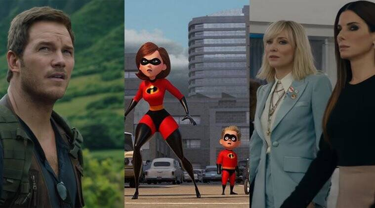 Jurassic World Fallen Kingdom, Incredibles 2 And Oceans 8 -2839
