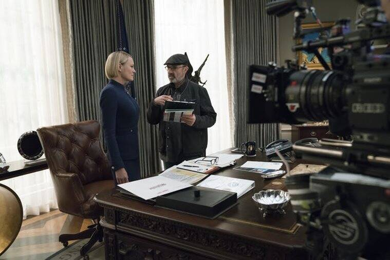 robin wright in house of cards image