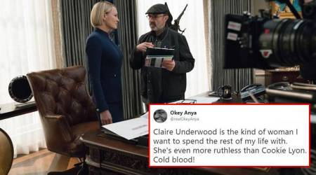 House of cards, Claire Underwood, first look of House of cards, House of cards final season, Kevin Spacey, Kevin Spacey metoo, Kevin Spacey sexual harassment, indian express