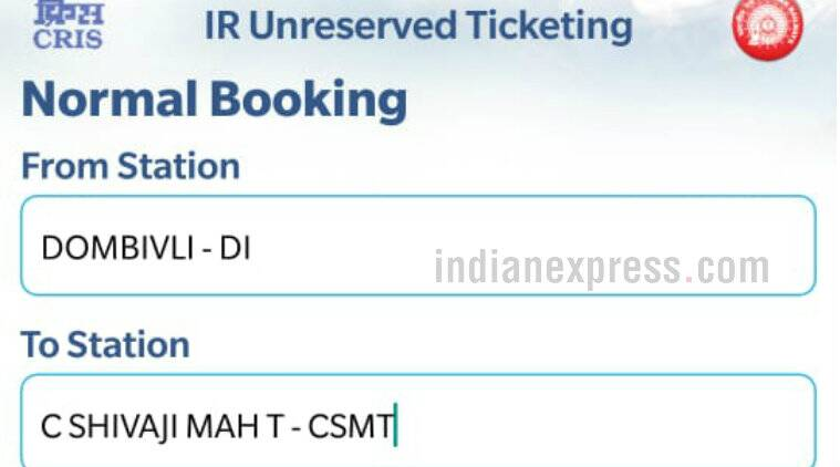 uts, uts app, indian railways uts app, uts app for android, uts app for ios, how to use uts, how to use uts app book tickets, mumbai train tickets, mumbai lcoal train tickets, purchase mumbai local train tickets