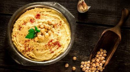 hummus, hummus recipe, easy hummus recipe, easy humus for weekend, weekend recipe, avocado hummus, beetroot hummus, indian express, indian express news