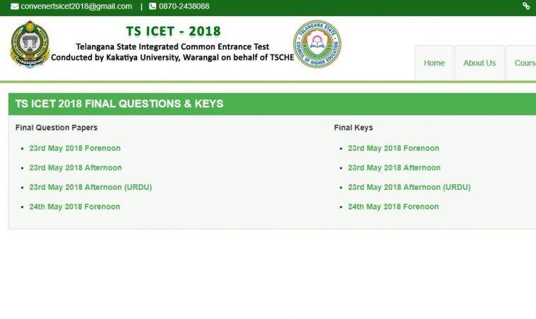 TS ICET result, Telangana ICET result, ICET 2018 Result, icet.tsche.ac.in