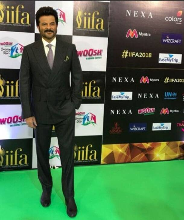 Anil Kapoor iifa green carpet