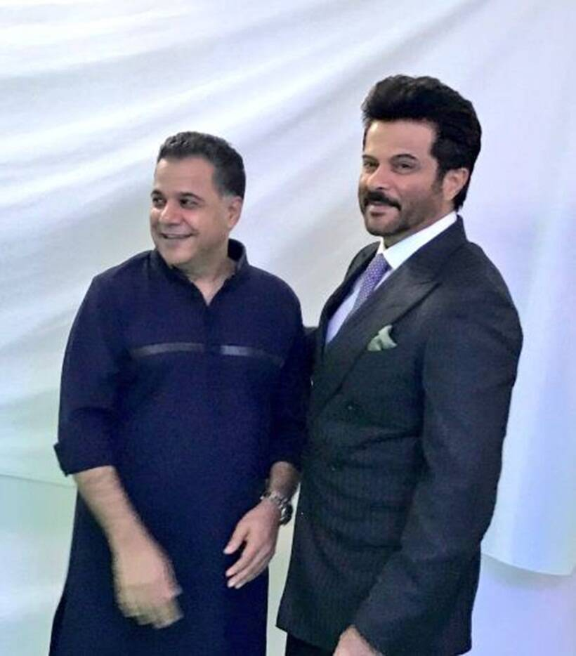 Raj Nayak and Anil Kapoor at iifa