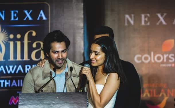 Varun Dhawan and Shraddha Kapoor iifa
