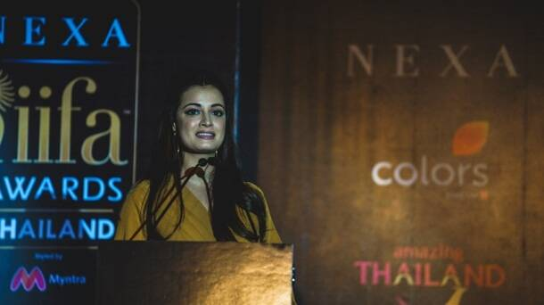 dia mirza iffa press conference