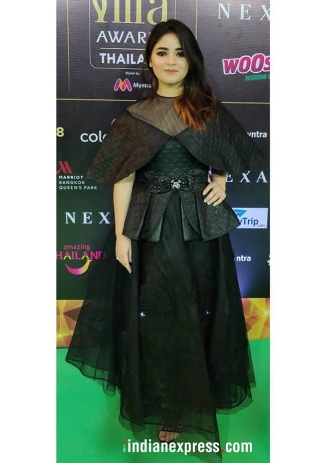 IIFA 2018, IIFA best and worst dressed, Kriti Sanon IIFA, Shraddha Kapoor IIFA, Arjun Kapoor, Zaira Wasim, Dia Mirza, indian express, indian express news