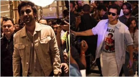IIFA 2018 Day 2: Ranbir Kapoor and Varun Dhawan greet theirfans
