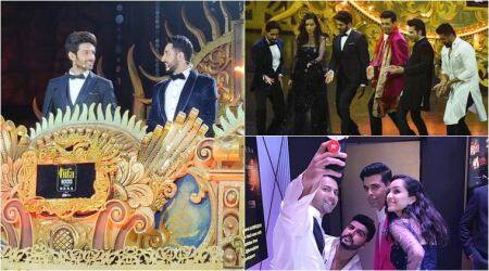 Inside IIFA Rocks 2018: Kartik Aaryan, Karan Johar and Varun Dhawan bring the house down in Bangkok