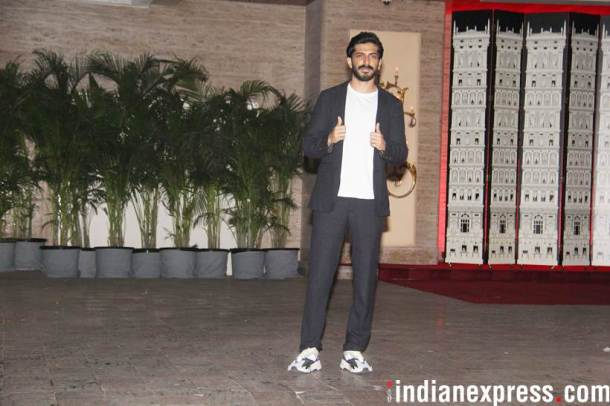 harshvardhan kapoor at natasha poonawalla party