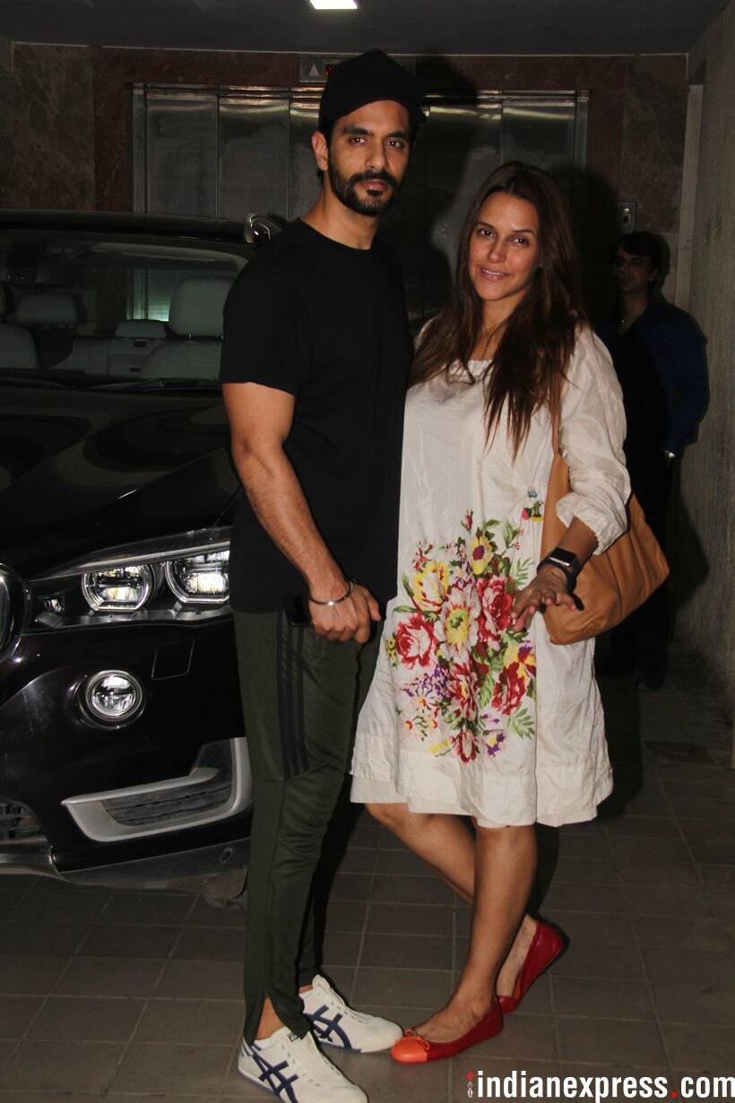 neha dhupia and angad bedi together